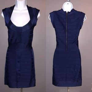 French Connection Navy Blue Bodycon Dress